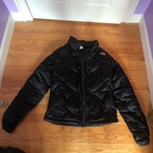 Classic black north face
